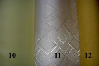 JEDNOFAREBNÝ SO VZOROM - VIAC 10/11/12