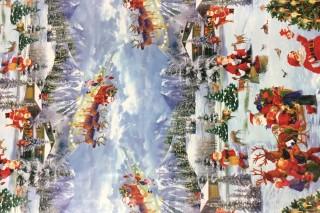 ROLKY MISTRÁL - PVC OBRUSY vianoce 04