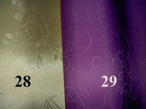 JEDNOFAREBNÝ SO VZOROM - VIAC 28/29
